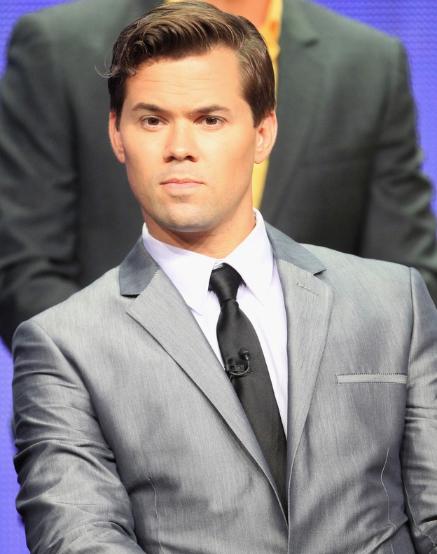 Andrew Rannells plays Bryan Buckley, a successful TV show producer and writer, in the new comedy <em>The New Normal</em>.