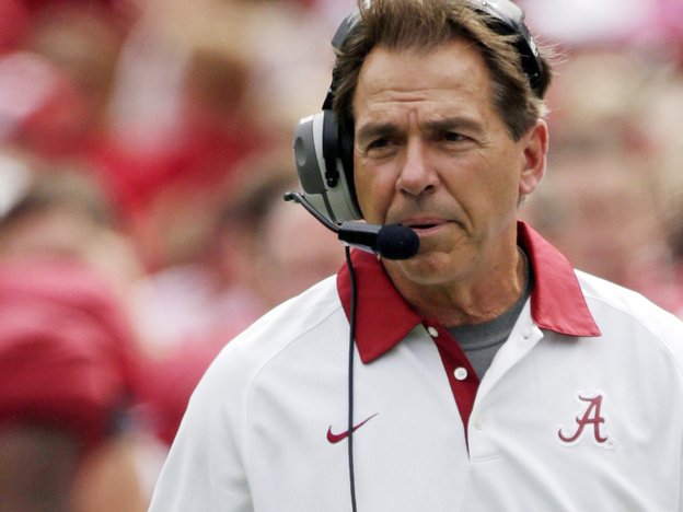 Alabama Coach Nick Saban is not alone on game day. Die-hard fans, and their families, are willing the team to victory.