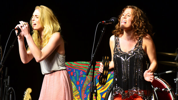 Delta Rae performs on Mountain Stage.