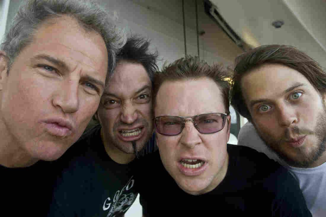 The quartet Garage a Trois.