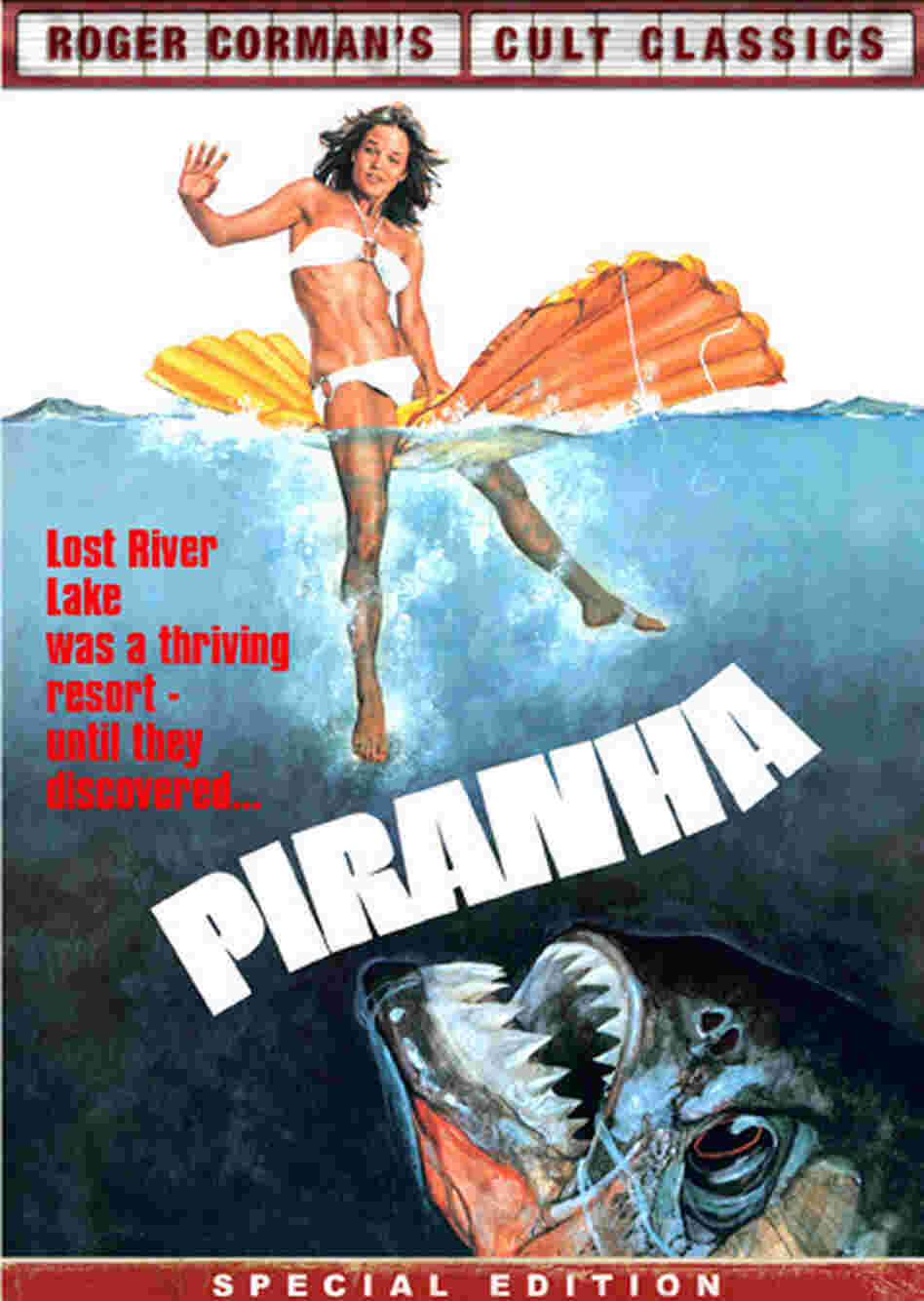 Jaws inspired B-movie king Roger Corman's 1978 knockoff, Piranha.
