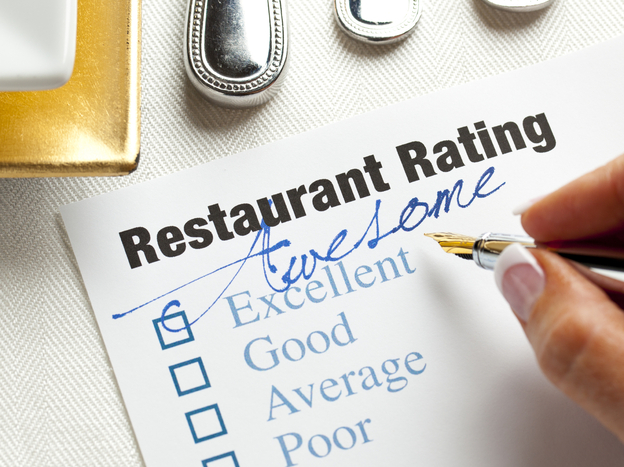 One sign that a restaurant review is a fake is if it gives a very high or very low rating without many specifics. (iStockphoto.com)
