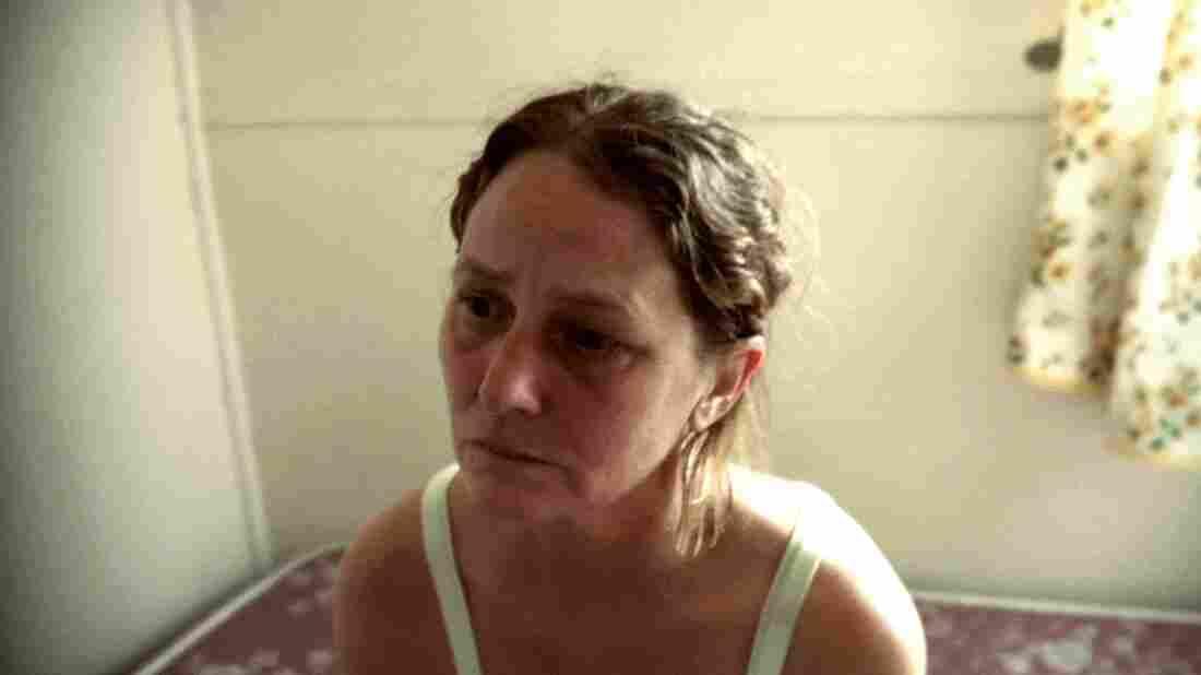 Former inmate Francine (Melissa Leo) struggles with her newfound freedom.