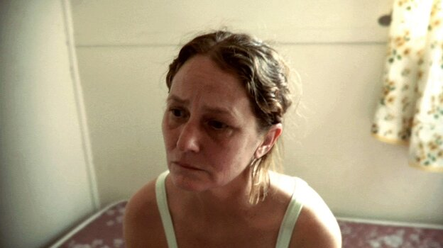Former inmate Francine (Melissa Leo) struggles with her newfound freedom.