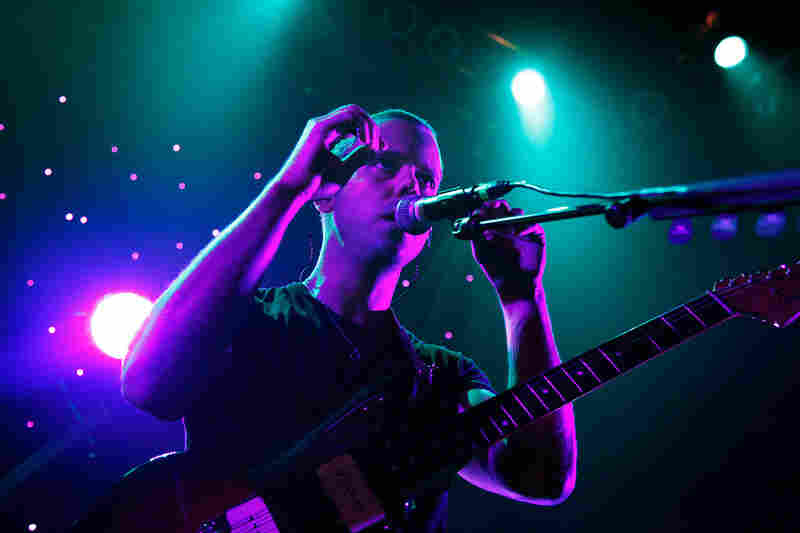M83 performing live at the 9:30 Club in Washington, D.C. on May 12, 2012.