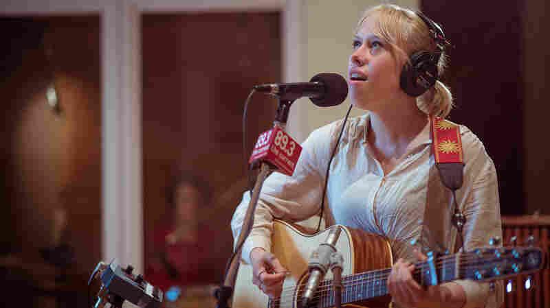 Bomba de Luz performs in The Current's studios.