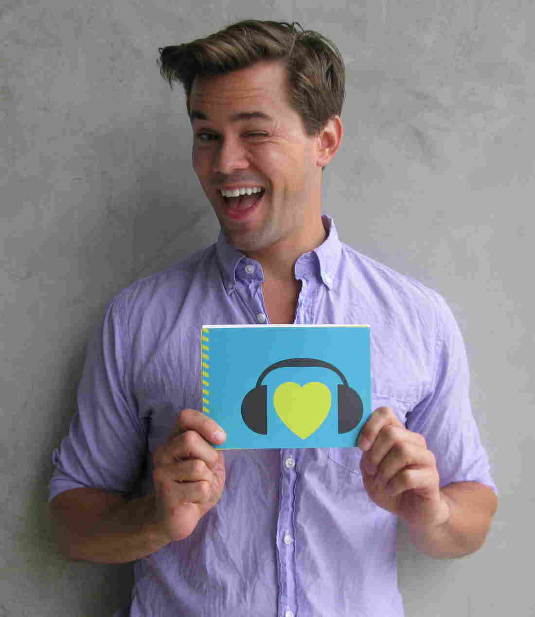 Andrew Rannells loves NPR.