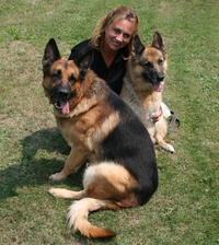 Annemarie DeAngelo, the center's training director, founded the New Jersey State Police Canine Unit and has worked with canines for more than 13 years.