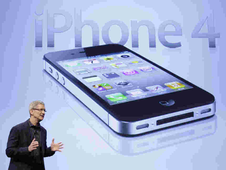 Tim Cook of Apple announces that Verizon Wireless will carry the iPhone in January 2011. Apple is expected to unveil its latest iPhone on Wednesday.