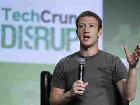 Facebook CEO Mark Zuckerberg emphasized his company's mobile-centered future Tuesday, in his first public comments since Facebook's troubled IPO.