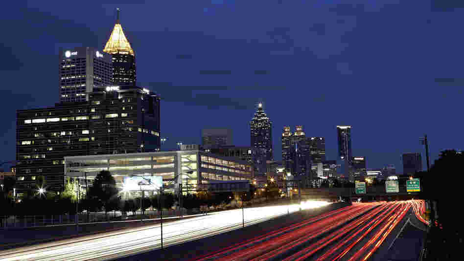 How much does noisy traffic in Atlanta affect people's health?