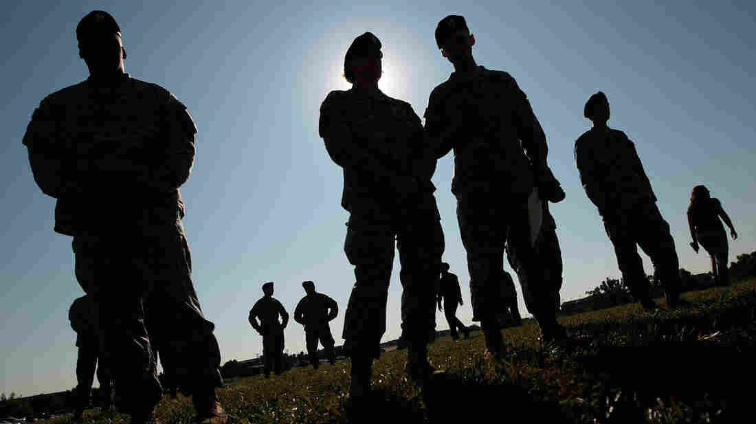 To get security clearance for jobs in the military or the government, applicants must say whether they've undergone counseling in recent years. Some experts say this question — known as Question 21 — is discouraging people from applying for jobs or from getting help.