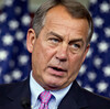 """Speaker of the House John Boehner says he has little of hope of reaching a resolution on the so-called """"fiscal cliff."""""""