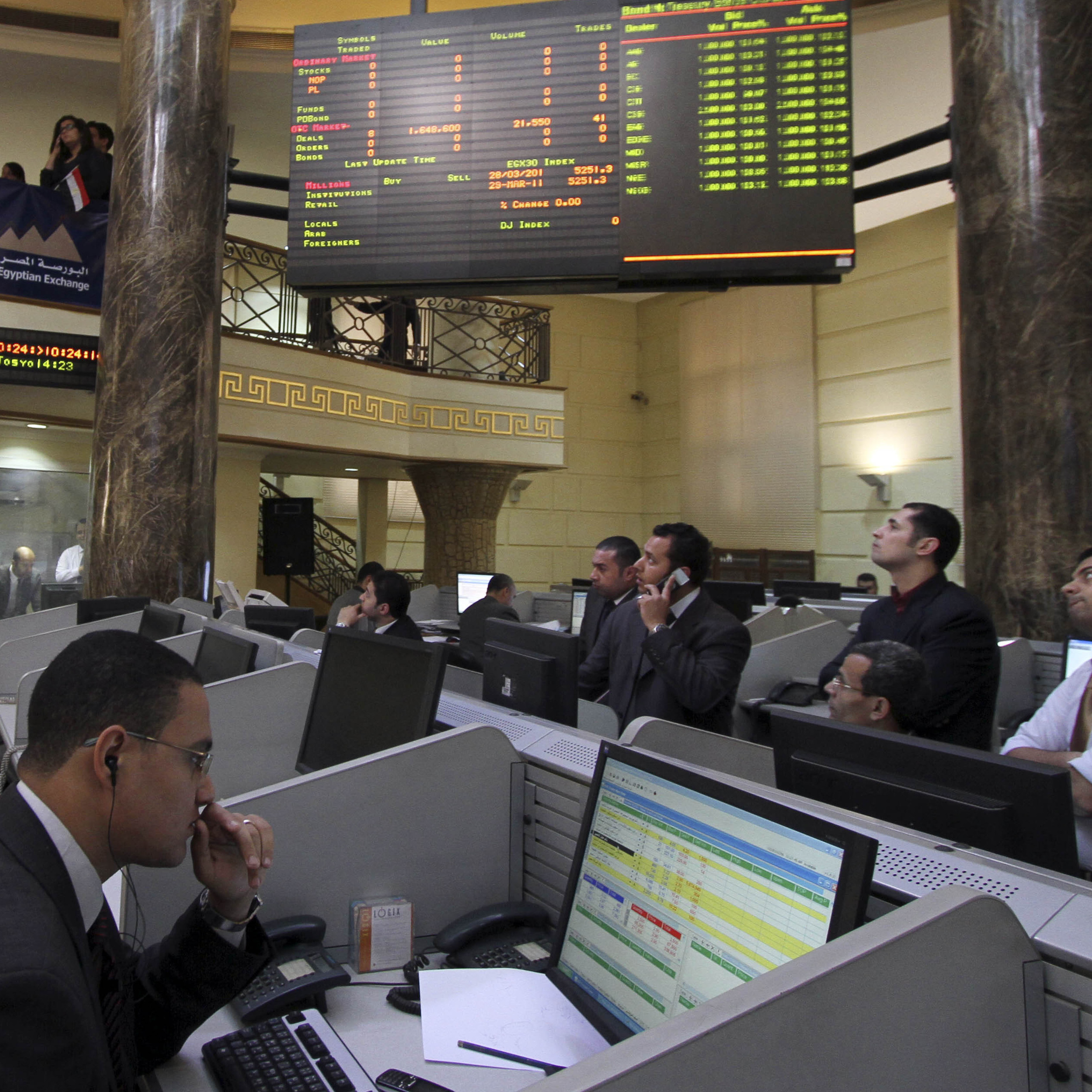 egyptian stock exchange market