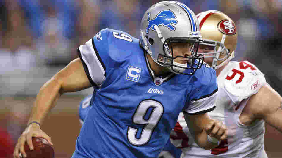 Quarterback Matt Stafford and the Detroit Lions will travel to San Francisco to play the 49ers Sunday night. Because their body clocks are set to the Eastern time zone, the Lions could be at a disadvantage.