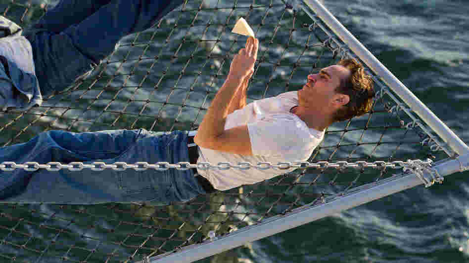 Joaquin Phoenix plays a sailor very much at sea in Paul Thomas Anderson's The Master.