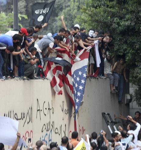 Egypt Violence at US Embassy
