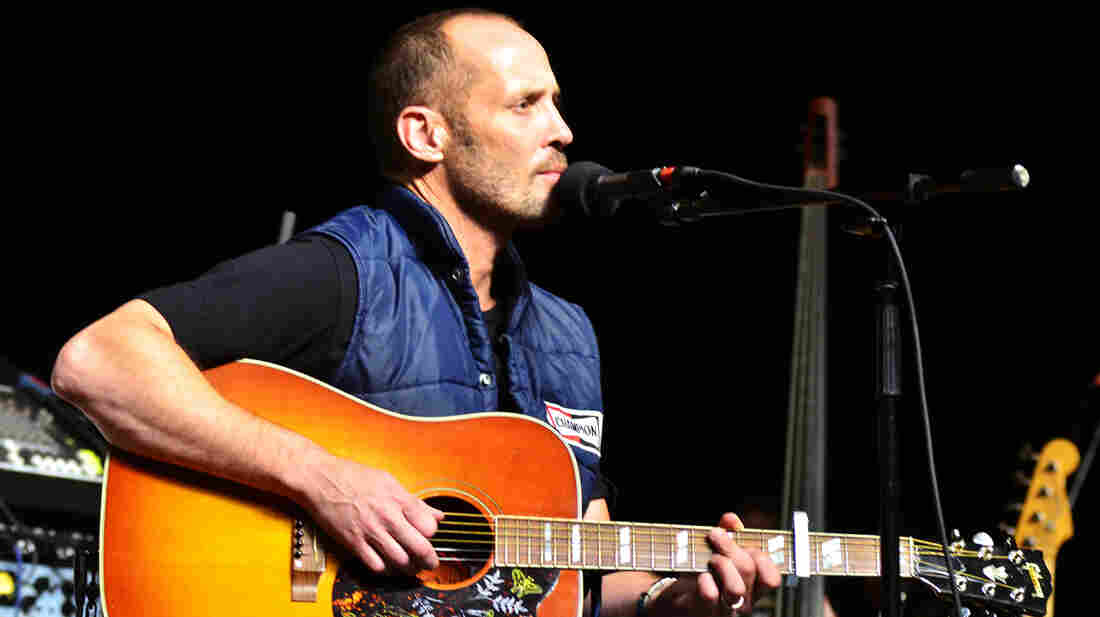 Paul Thorn performs on Mountain Stage.