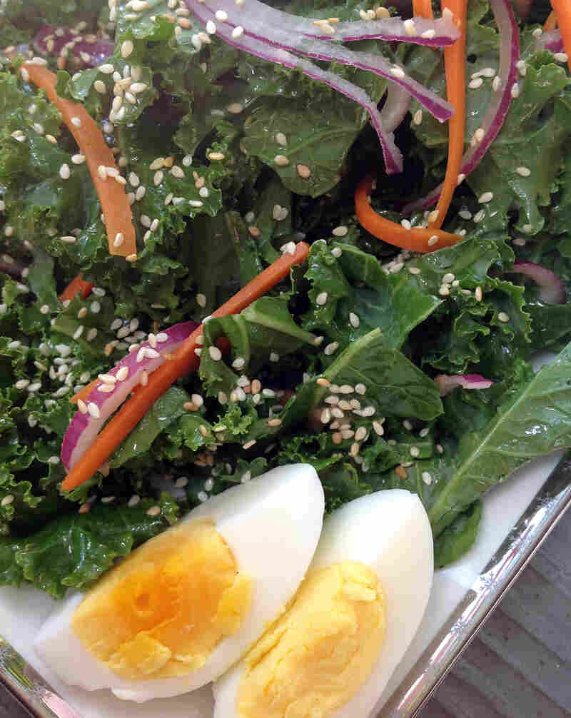 Kale Salad With Sorghum Vinaigrette