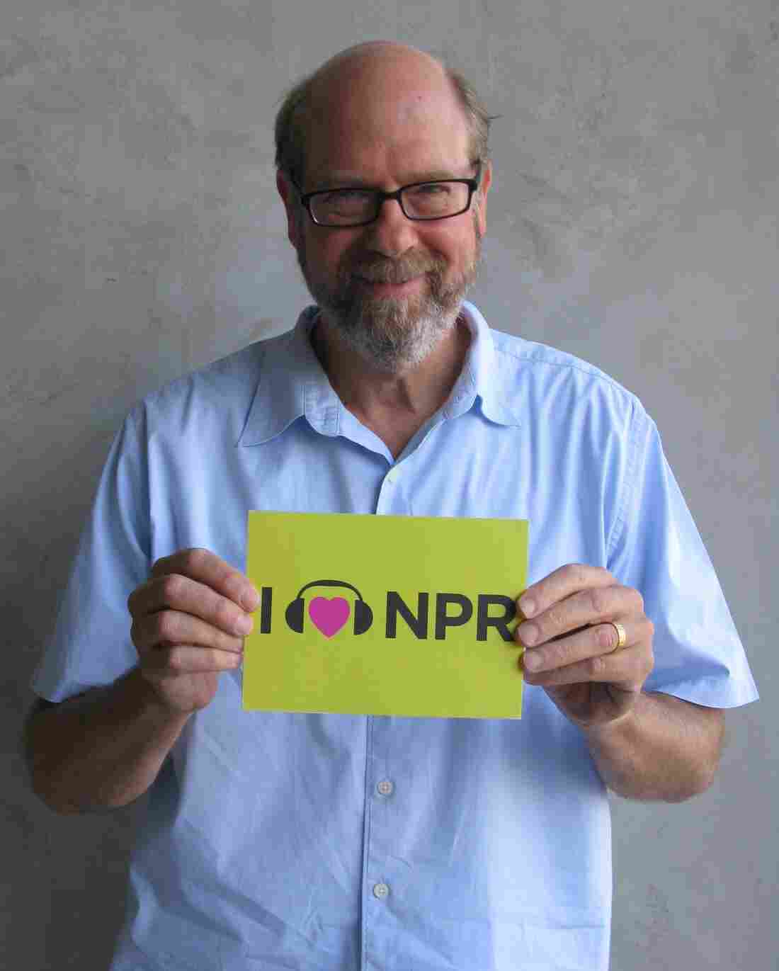 Stephen Tobolowsky at NPR West