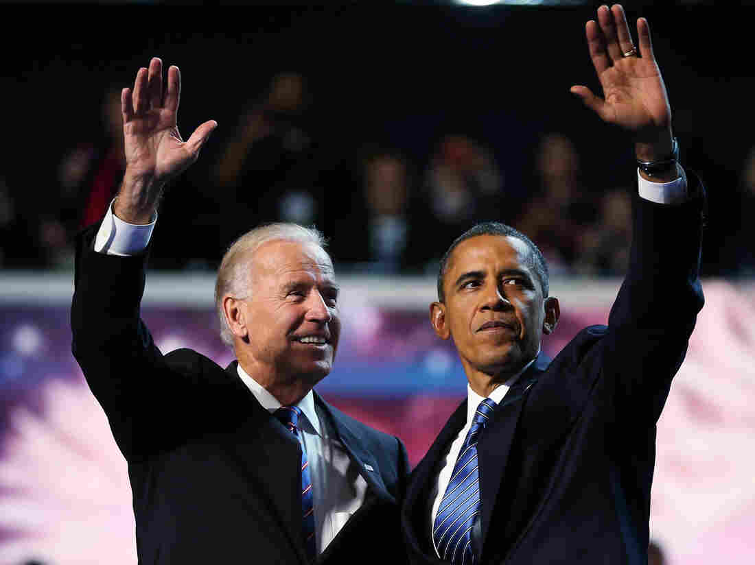 """President Barack Obama and Vice President Joe Biden accepted renomination at the DNC in Charlotte. It is considered an insult to call their party the """"Democrat Party."""""""