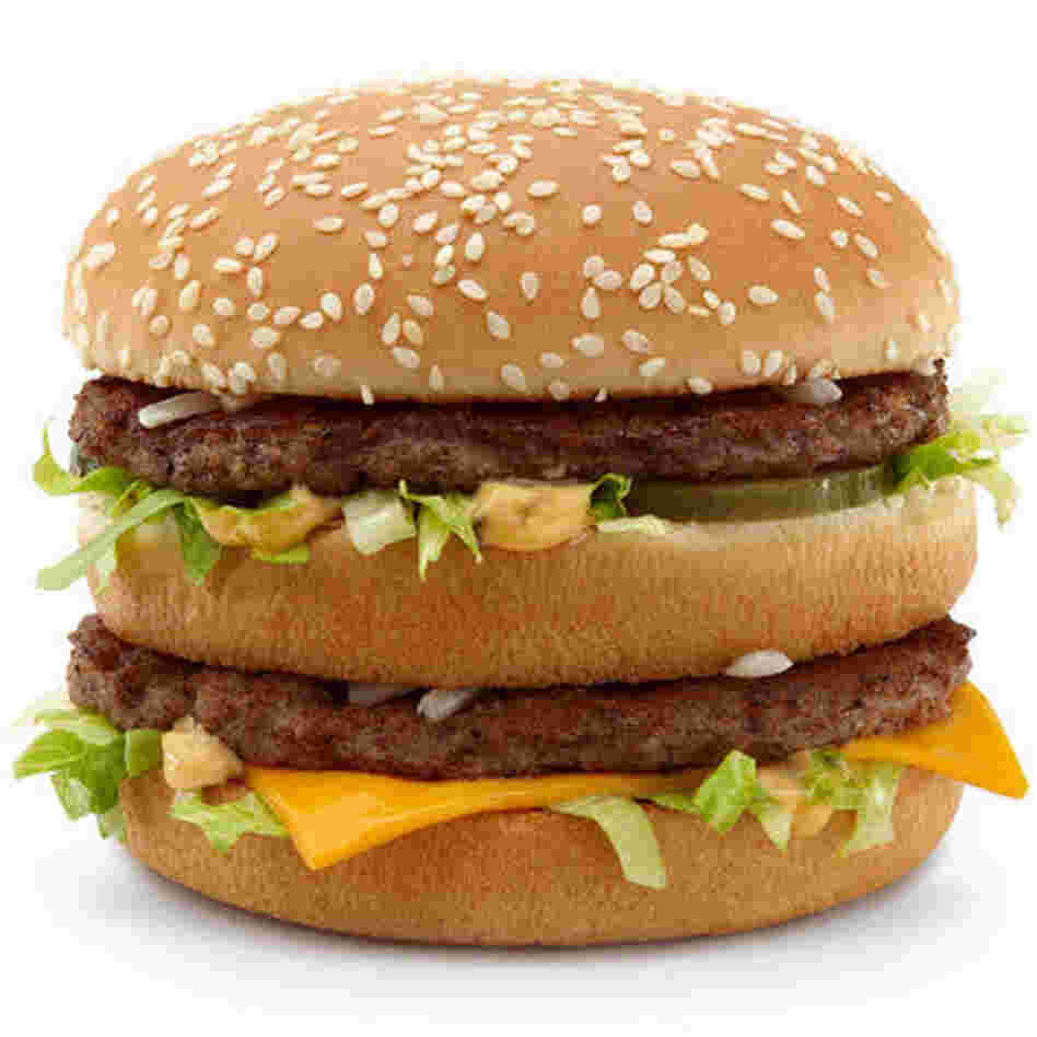 The iconic Big Mac is still 550 calories.