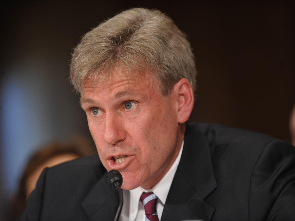U.S. Ambassador to Libya Chris Stevens, who was killed Tuesday, worked closely with Libya's rebels last year as they fought to overthrow Moammar Gadhafi. (Getty Images)