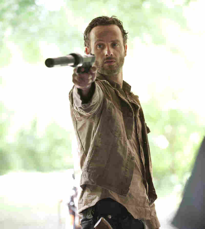 Rick Grimes (Andrew Lincoln) returns in October to fight more zombies in the hit AMC series The Walking Dead. But about 14 million people won't be able to see the premiere because of an ongoing dispute between AMC and satellite provider DISH Network