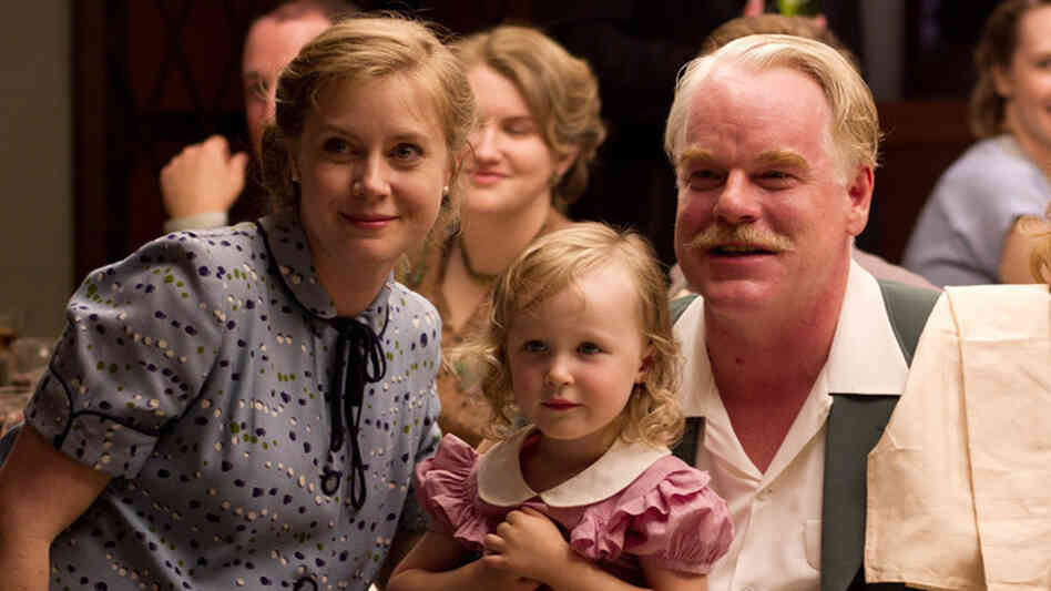 "In Paul Thomas Anderson's The Master, Amy Adams plays Peggy Dodd, the spouse of a charismatic spiritual leader, played by Philip Seymour Hoffman. Adams says her character is smart and educated but feels ""more powerful behind a man than in front of a man."""
