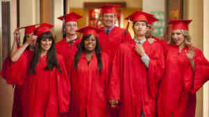 Many lead characters in Fox's Glee will head to college this season. But will higher education lead to lower ratings?