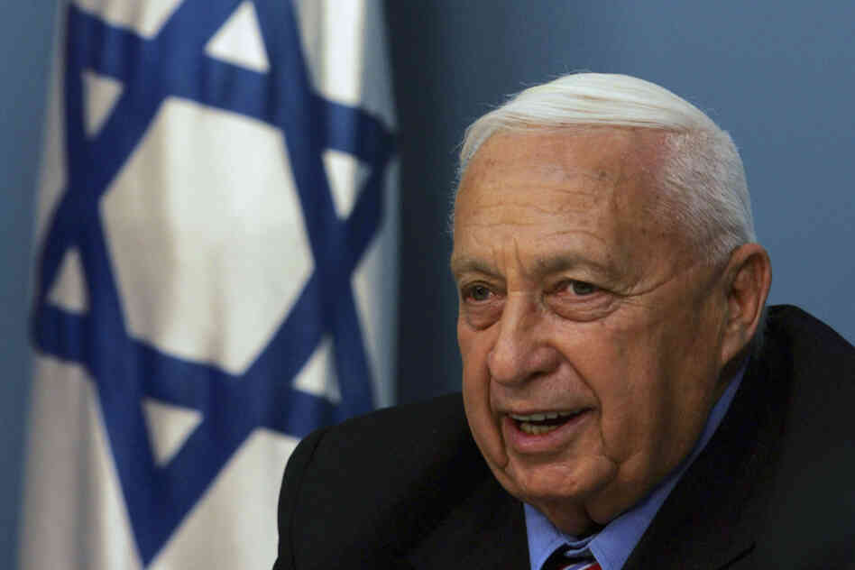 Israeli Prime Minister Ariel Sharon speaks during a news conference in his offices on Nov. 21, 2005, in Jerusalem. Sharon announced his split from his right-wing Likud party to form a new political party, Kadima. He was on the way to re-election in 2006 when he suffered a stroke and fell into a coma from which he never awoke.