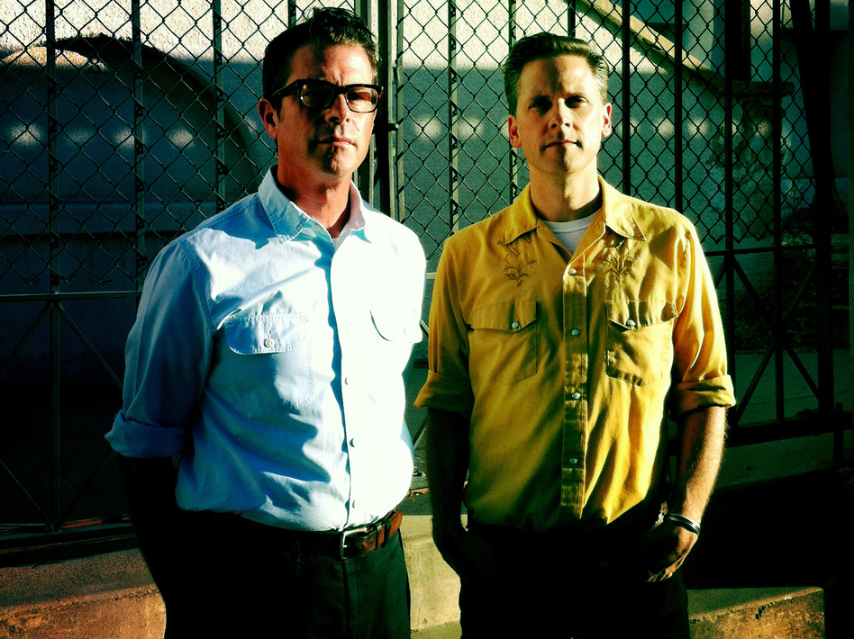 John Convertino and Joey Burns have been performing as Calexico since 1996. Their latest album is called Algiers.
