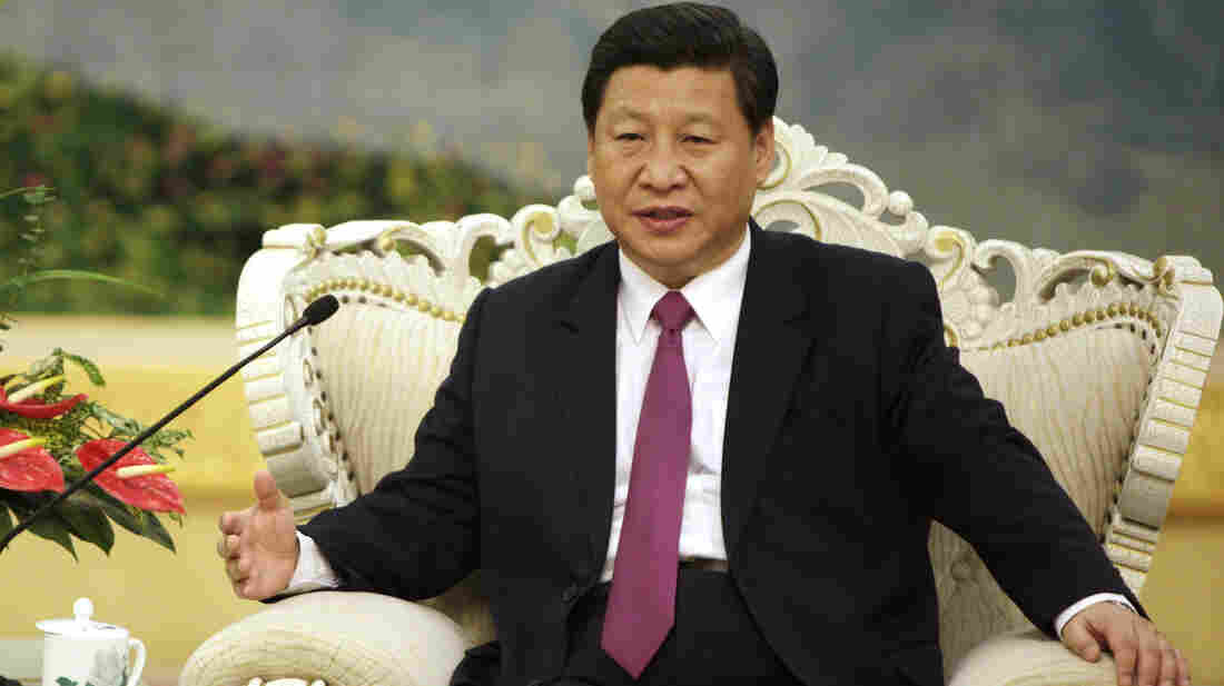 Chinese Vice President Xi Jinping at the Great Hall of the People in Beijing on Aug. 29. He hasn't been seen or heard from since Sept. 1.