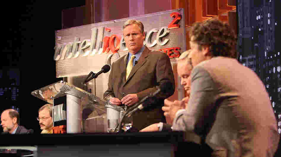 John Donvan of ABC News moderates an Intelligence Squared debate on the regulation of money in politics.
