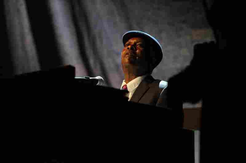 Booker T. Jones opens the show.