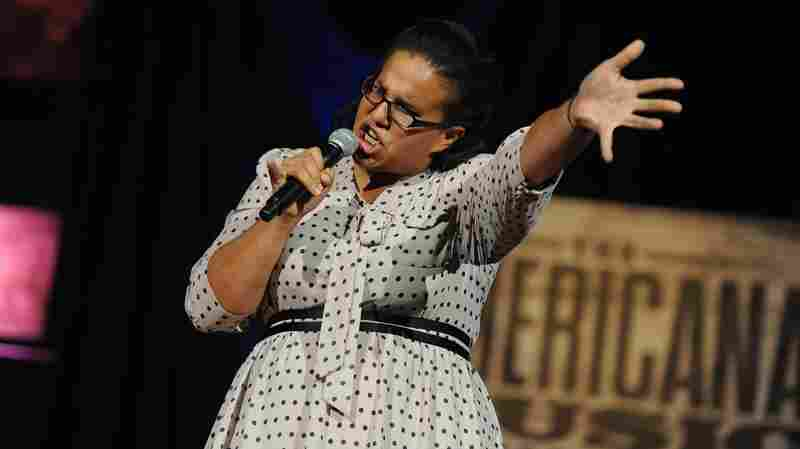 Brittany Howard of Alabama Shakes performs. The group was awarded New/Emerging Artist Of The Year.