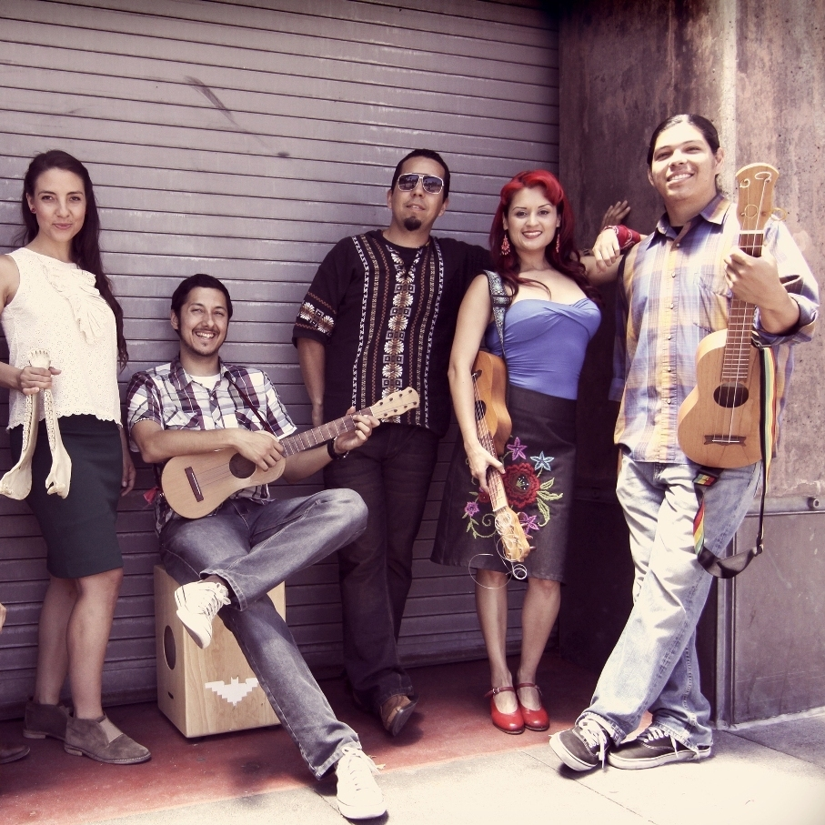 "Las Cafeteras, from Los Angeles, have made their own version of the classic son jarocho song ""La Bamba."""