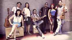 """Las Cafeteras, from Los Angeles, have made their own version of the classic son jarocho song """"La Bamba."""""""