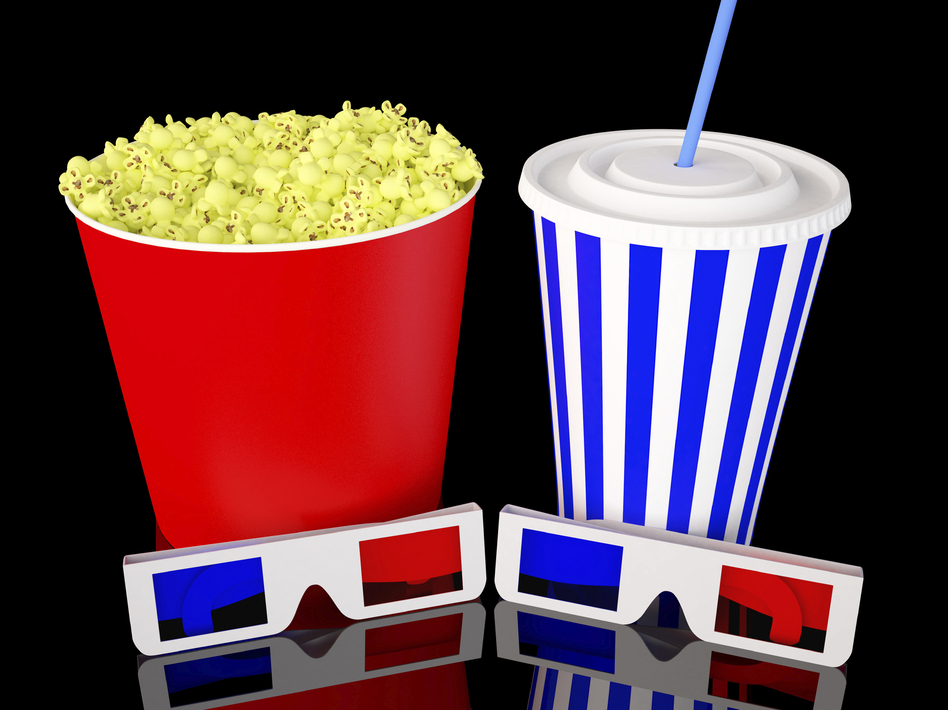 Under New York Mayor Bloomberg's proposed big soda ban, soda sizes at the movies and elsewhere would have to shrink, and so would the fun, some people say. (iStockphoto.com)