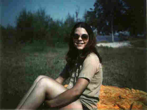 Susan McClinton in 1972, the year she met Philip.