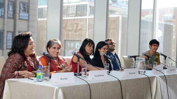 Luminaries including Mira Nair, Guneet Monga, Shailja Gupta, Nina Lath Gupta and Dibakar Banerjee attended TIFF's Asian Film Summit Banquet to discuss the growth of a new, realist So