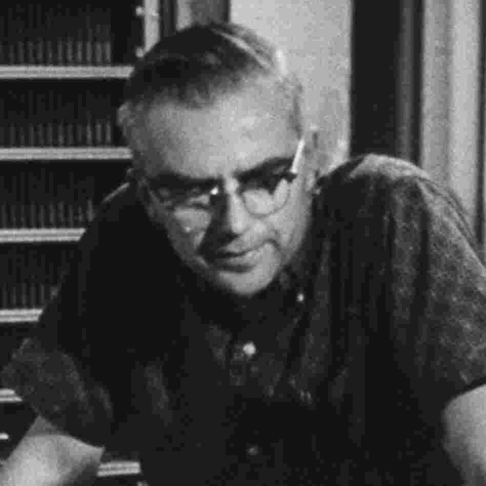 Radio astronomer Frank Drake at National Radio Astronomy Observatory, circa 1962.