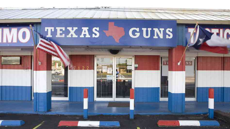 A gun dealer in San Antonio