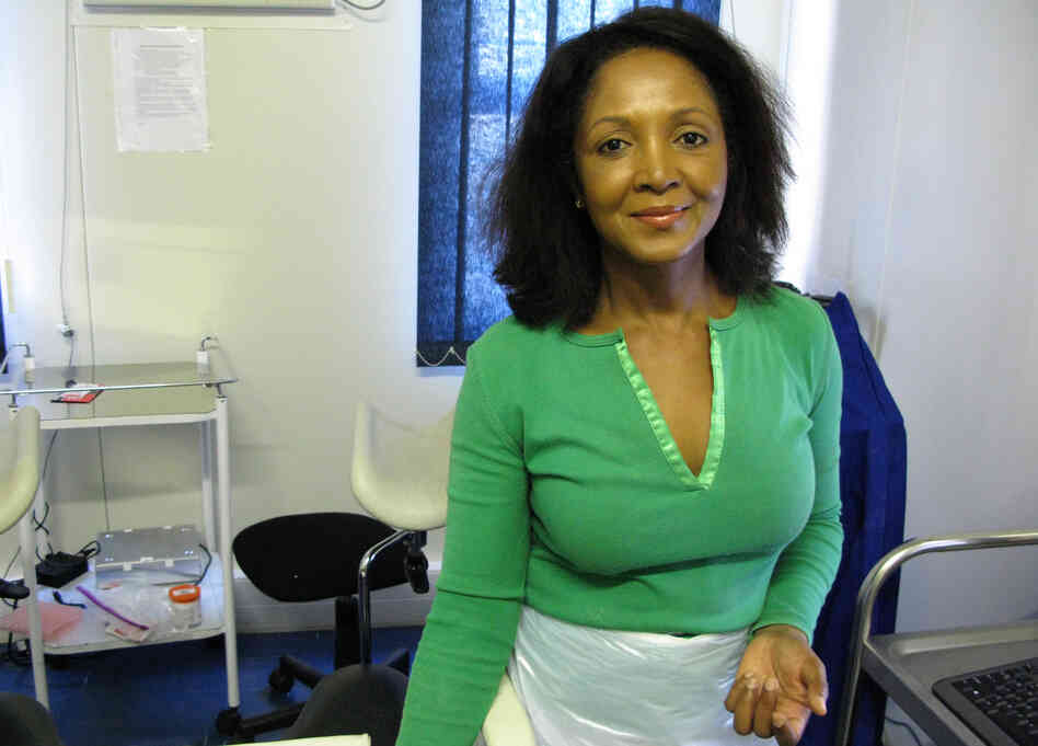Doreen Ramogola-Masire, an obstetrician-gynecologist in Botswana, hopes that a simple, quick screen for cervical cancer with vinegar will catch the disea