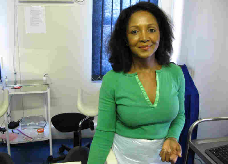 Doreen Ramogola-Masire, an obstetrician-gynecologist in Botswana, hopes that a simple, quick screen for cervical cancer with vinegar will catch the disease early and save women's lives.