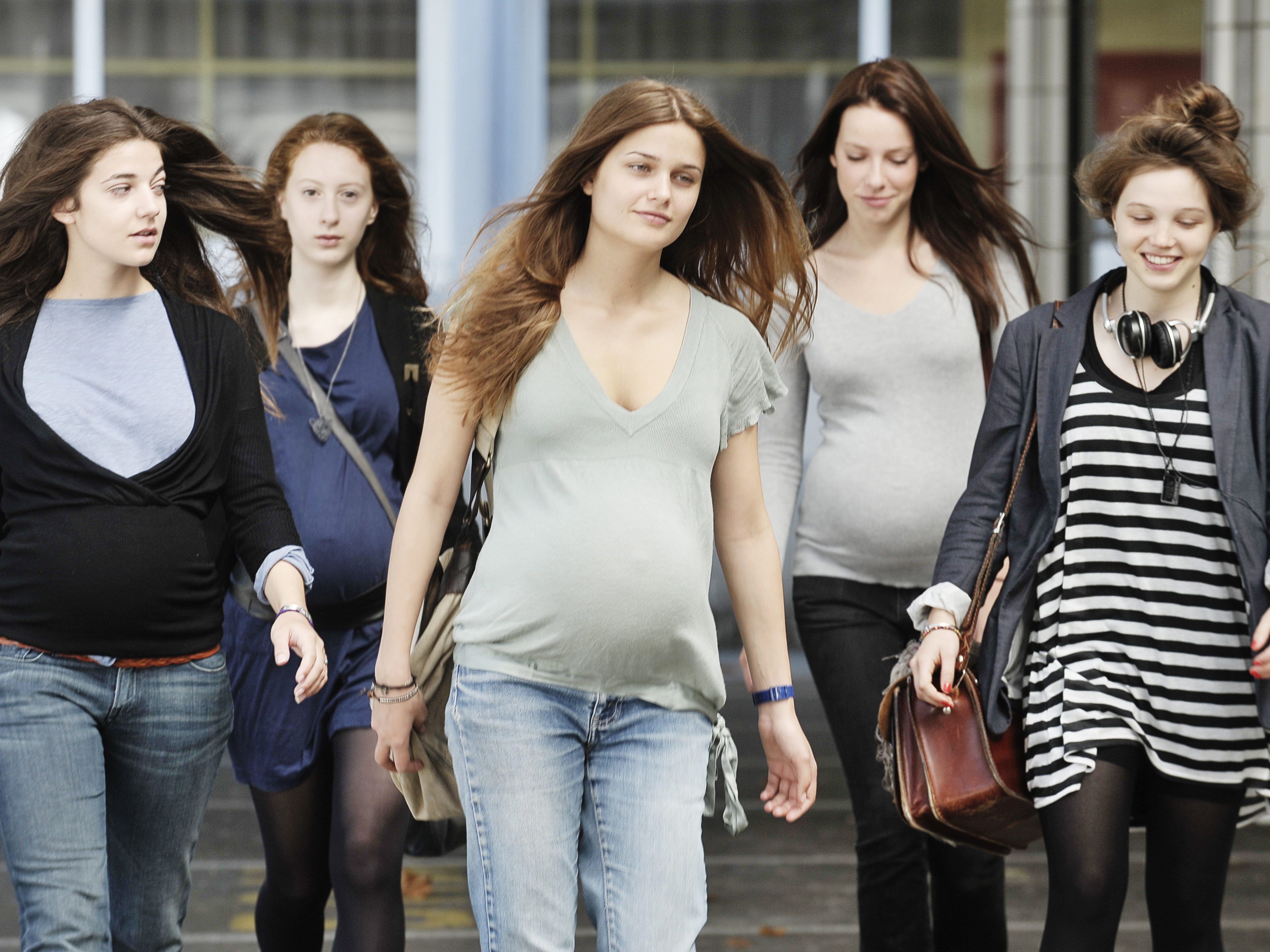 Pregnant Teenagers In Middle School