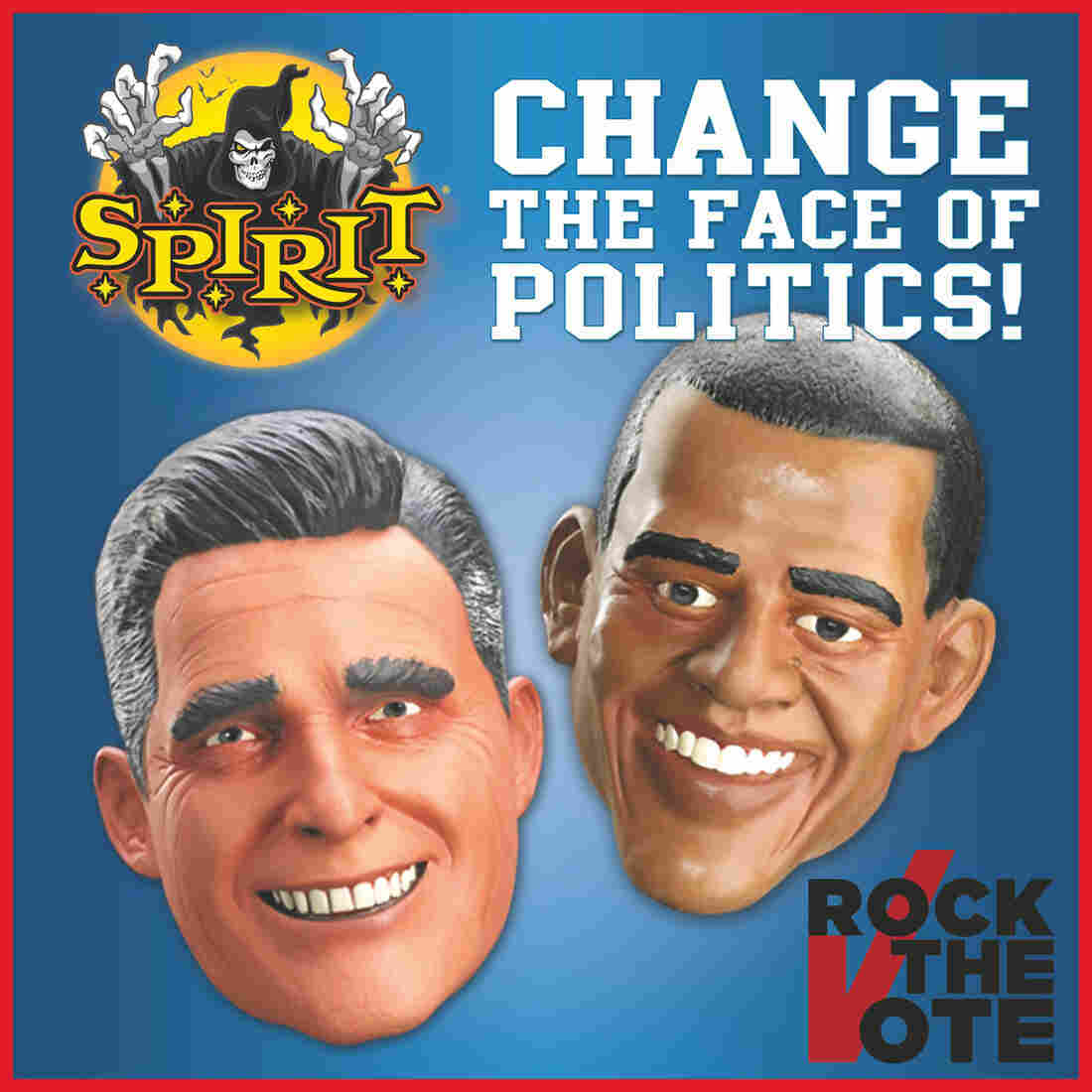 Spirit Halloween political masks