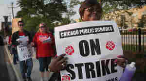 Chicago's Mayor Emanuel Asks Court To Order Teachers Back To School