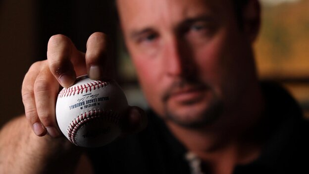 Tim Wakefield, formerly of the Boston Red Sox, was the oldest active player in the majors before retiring in 2011. For years he was the only pitcher throwing a knuckleball.