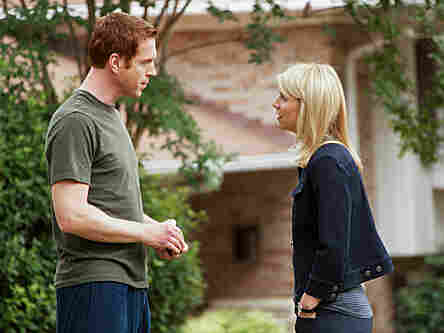 Homeland's central conflict involves Mathison's suspicions about whether former POW Nicholas Brody (Damian Lewis) is secretly an al-Quaida mole.
